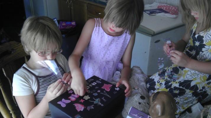 Creating a card box